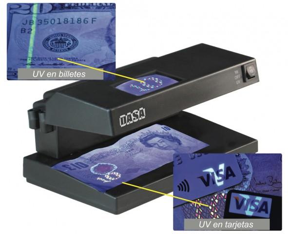 detector de billetes dasa db9w